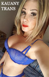 Escort trans Kauany Paris