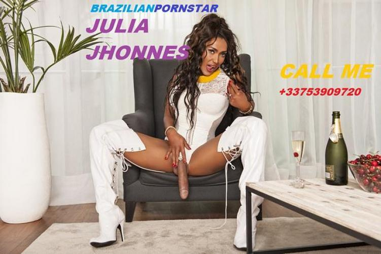 Ts julia  du bresil-⭐️ sexyparty now  transexy belle miss.juliatsbcp sperm23cm - Escort Paris