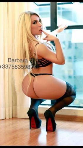 Trans barbara paris 22cm sexy  100% réel!! - Escort Paris