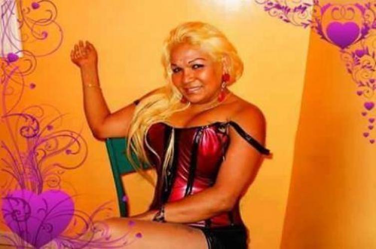 Sandra  belle trans blonds  passagen sur drancy 24h24h