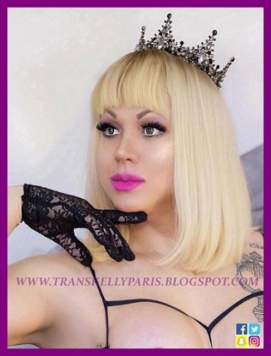 Kelly the queen trans 23cm a paris 12eme metro daumesnil  rue taine - Escort trans Paris - 0647320393