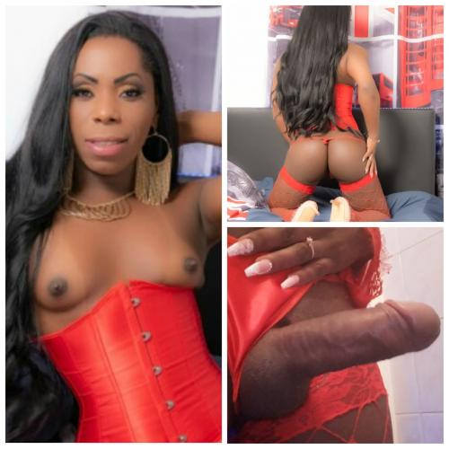 Jolie bombe black - Escort Paris
