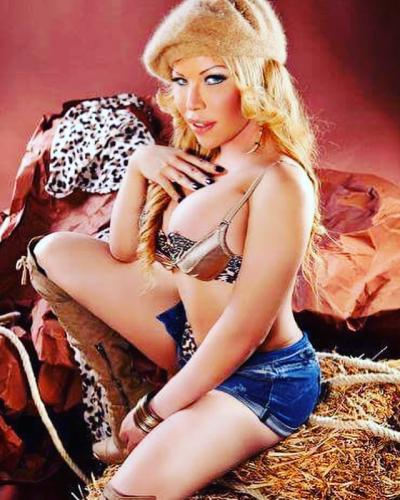 >Trans barbara blonde tresexy metro eteanne marcel
