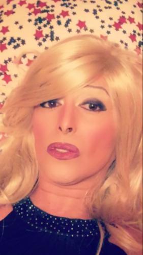 Linda jolie trans blonde 27a  tbm 20cm pour homme passif