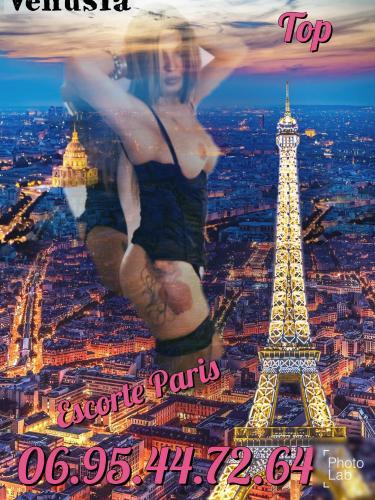 Trans* venusia* paris 5eme realisation de tous vos fantasmes et desirs douce ou domina s/ - Escort Paris