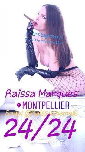 ❤ nouvelle  trans al 16eme  ❤ raissa marques  snap @raissashemale - Escort Paris