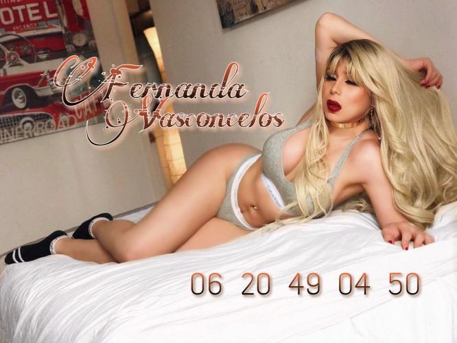 Fernanda - Escort trans Marseille - 0620490450