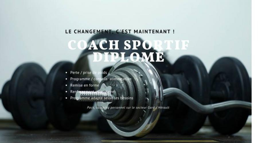 Coaching sportif - Escort Lunel