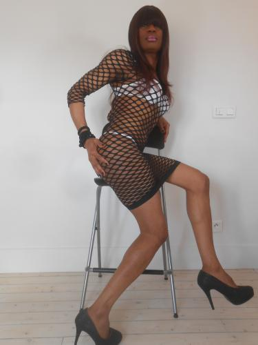 Jolie trans black - Escort Paris