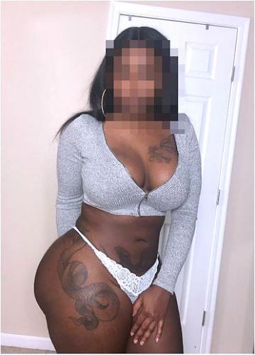 Belle femme black chez vous - Escort Brive la Gaillarde