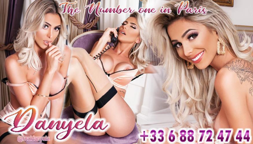 Danyela - Escort trans Paris - 0688724744