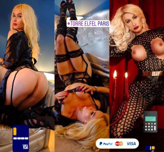 Beatriz Hilton star trans 21ans très très actif - Escort trans Paris - 0753336362