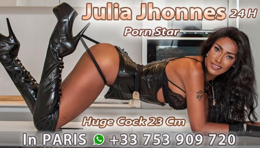 Miss julia transsexuel ttbm 23cm dispo de suite  rdv par aplez no sms - Escort Marseille