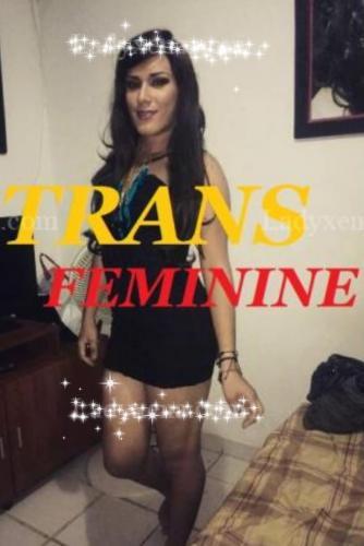 Trans erika ... charmante et douce  de passage - Escort Angers