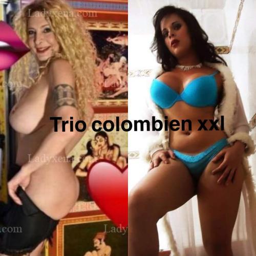 Trío colombien xxl - Escort Bobigny