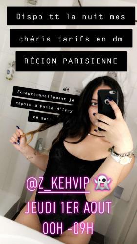 Disponible maghrébine porte d'ivry - Escort Paris