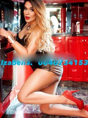 IZABELLA - Escort trans Paris - 0640734153